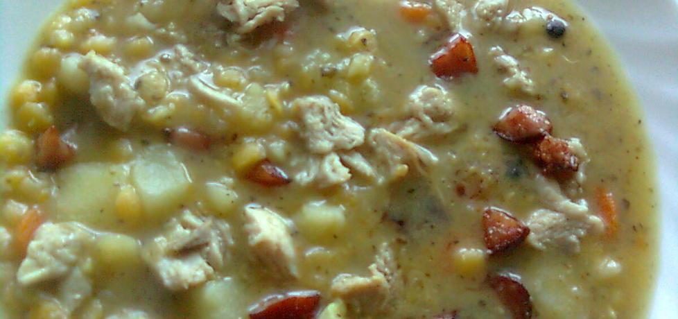 Zupa grochowa z mięsem (autor: emilia22)