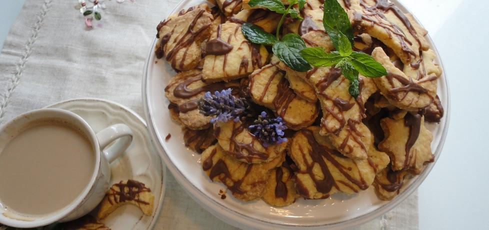 Kruche ciasteczka maślane z czekoladą (autor: klorus ...