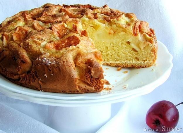 Proste ciasto z jabłkami...