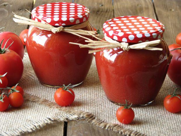 Przepis  przecier pomidorowy przepis