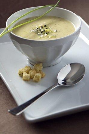 Zupa chrzanowa z szynką  prosty przepis i składniki