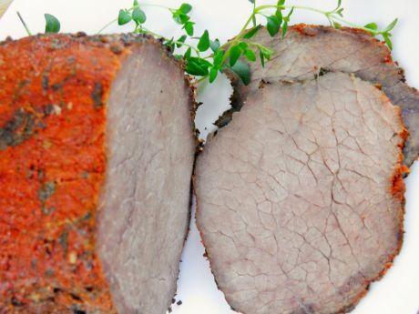 Przepis  na kanapki: pieczona wołowina przepis