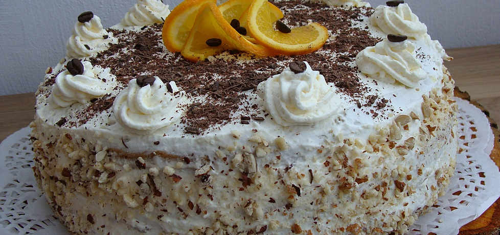 Tort kawowo-pomarańczowy (autor: 2milutka)