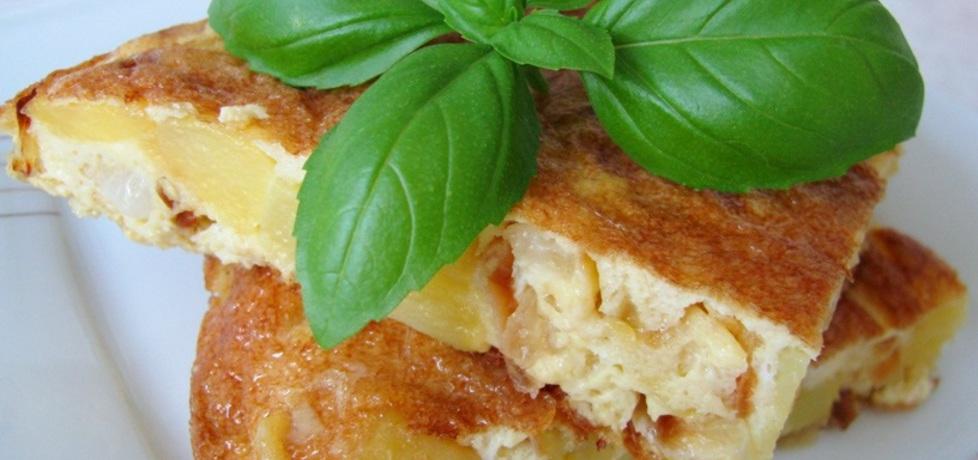 Tortilla de patatas, czyli hiszpański omlet z ziemniakami (autor ...