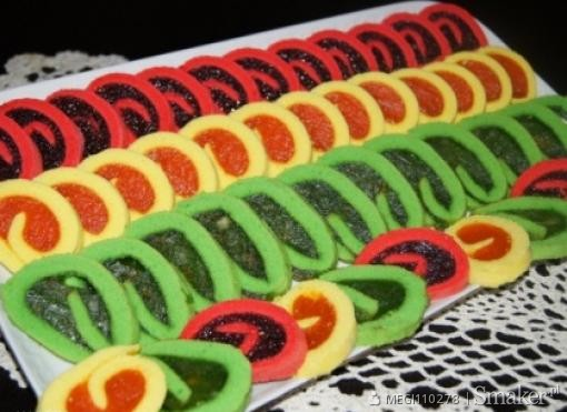 Kolorowe mini roladki ;-)