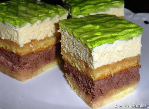 Ciasto serowe bez sera  torcik serowy.