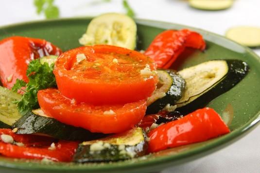 Tapas: warzywa z grilla