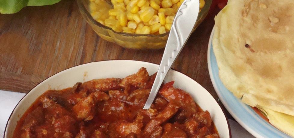 Pikantna wieprzowina z pomidorami (autor: iziona)