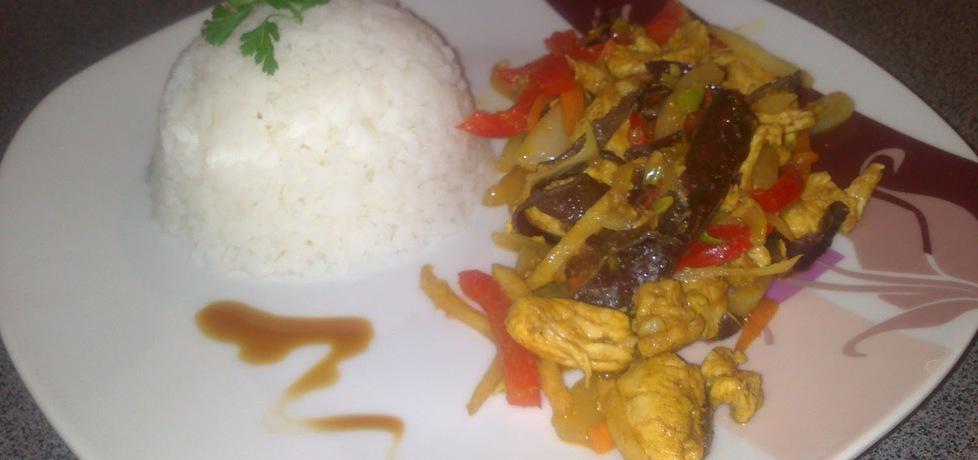 Kurczak z warzywami po chińsku (autor: gotujebochce ...