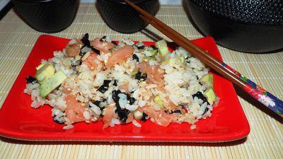 Sałatka a'la sushi