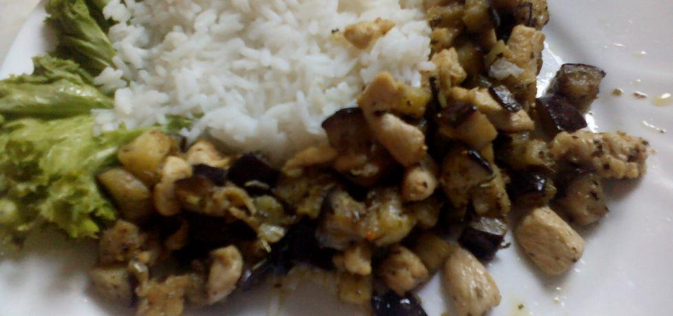 Ryż z kurczakiem i bakłażanem (autor: ilka01)