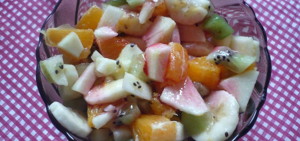 Sałatka owocowa (autor: gacopierz23)