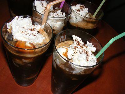 Kawa mrożona deserowa