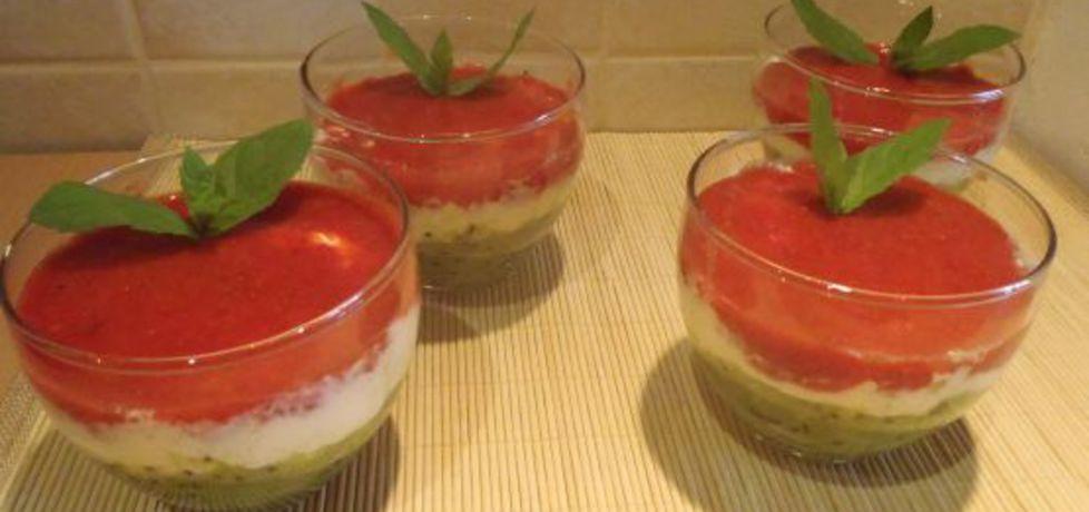 Owocowy deser warstwowy (autor: magula)