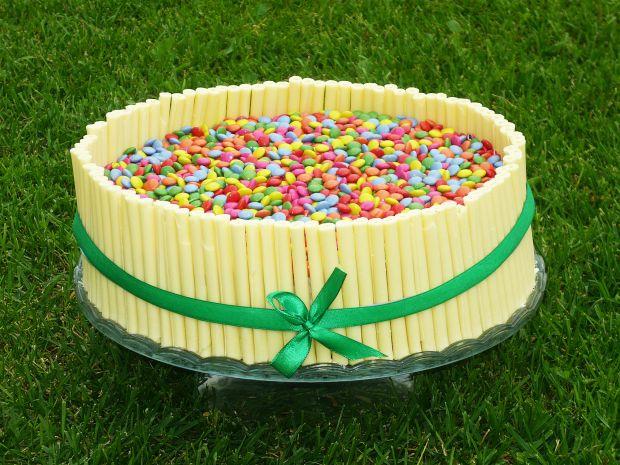 Przepis  tort śmietankowo czekoladowy przepis