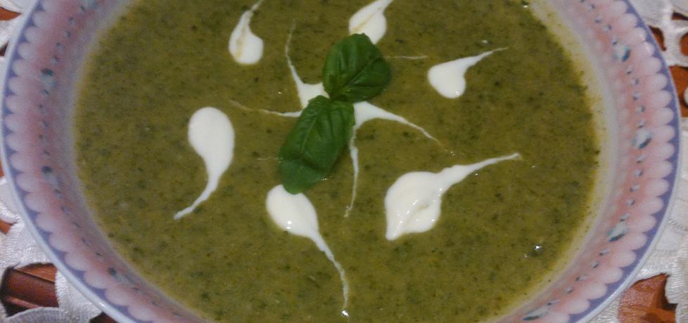 Zupka krem szpinakowy (autor: czyki)