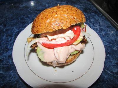 Bułeczki a'la kebab z mięsem z rosołu