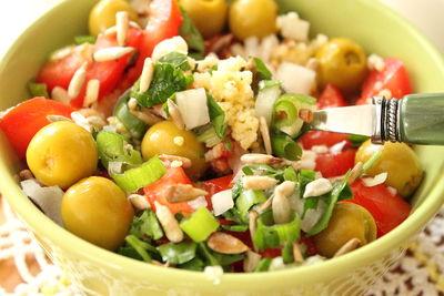 Kasza jaglana na ciepło z warzywami