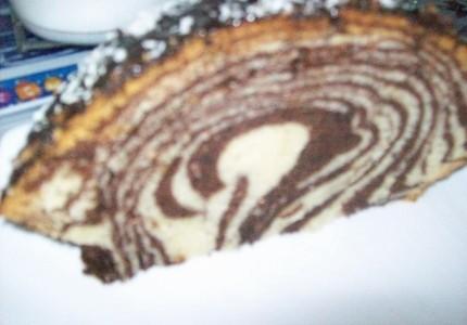 Zebra wielkanocna z kakao