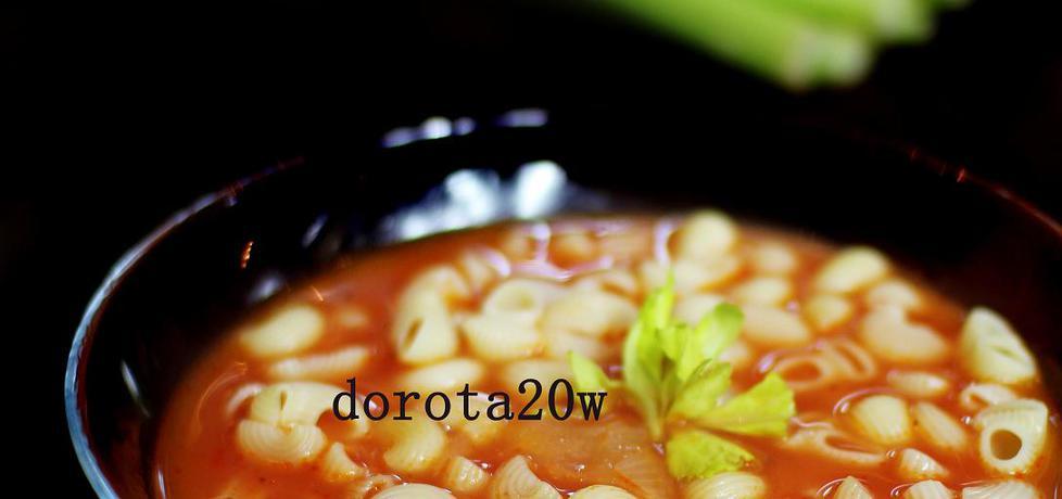 Zupa pomidorowo-selerowa (autor: dorota20w)