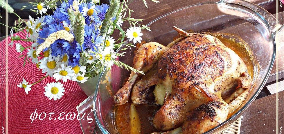 Kurczak z pieprzem cytrynowym i czubrycą (autor: zewa ...