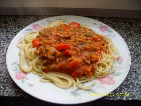 Przepis  spaghetti z sosem bolońskim przepis