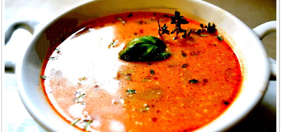 Zupa pomidorowa z pieczarkami i szynką (autor: christopher ...