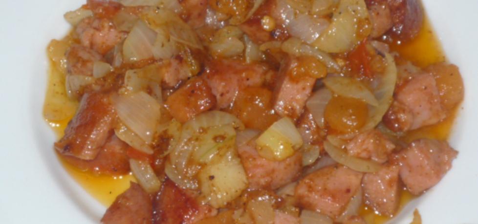 Kiełbaska z cebulką (autor: owocowka)