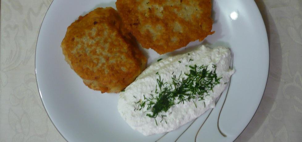 Placki ziemniaczane z białym serem i czosnkiem (autor: monika62 ...