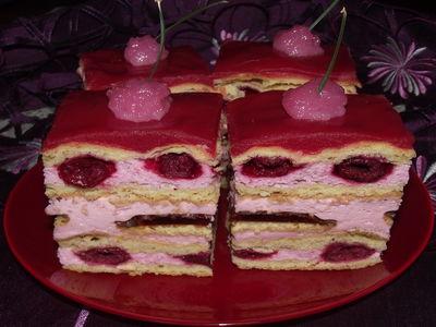 Ciasto wisienka