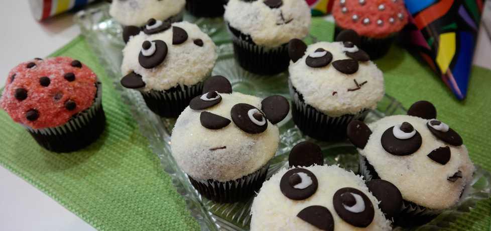Muffiny misie pandy. (autor: hrabina-w-kuchni)