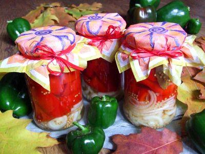 Papryka konserwowa z cebulą