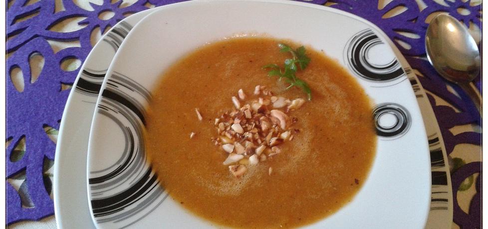 Zupa krem z pieczonej marchewki (autor: monikat83 ...