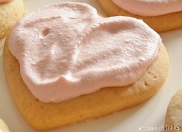 Cukrowe ciasteczka z kremem