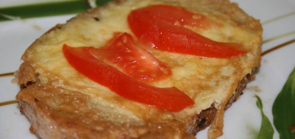 Chleb w jajku i pomidorami (autor: madagaskar)