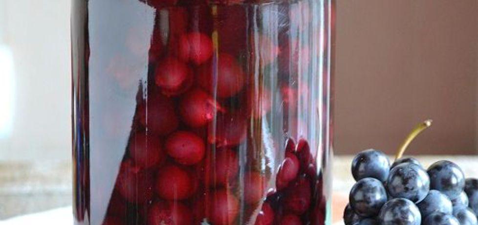 Kompot z winogron ogrodowych na zimę (autor: mufinka79 ...