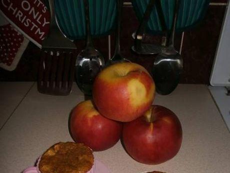 Przepis  kawowe muffiny z jabłkiem przepis