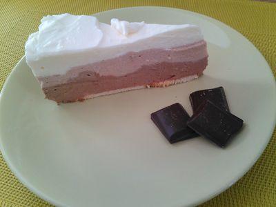 Ciasto trójwarstwowe