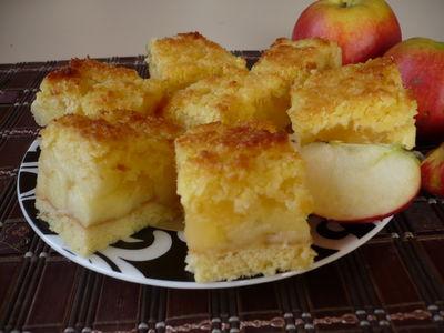 Jabłecznik z kokosem