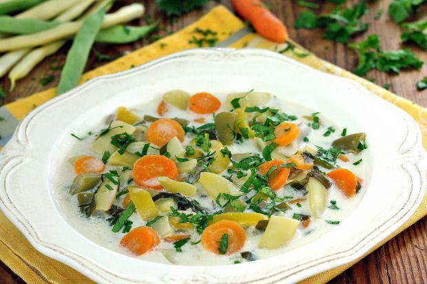 Przepis  zupa z fasolki szparagowej przepis