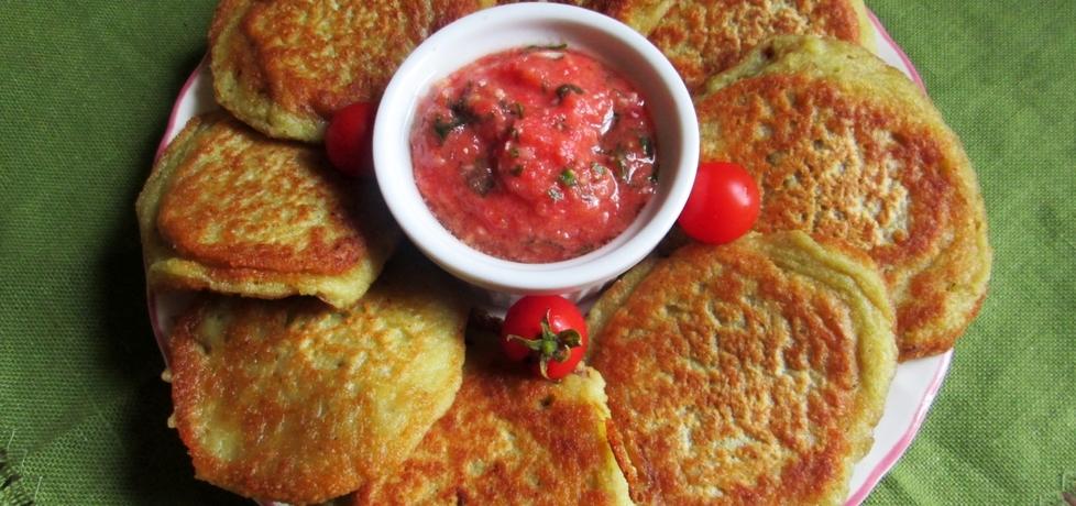 Placki ziemniaczane z sosem pomidorowym (autor: katarzyna40 ...