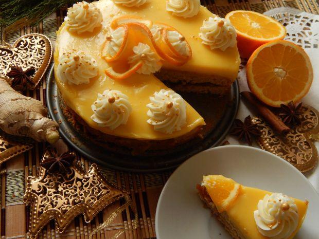 Przepis  ciasto korzenne z pomarańczami przepis