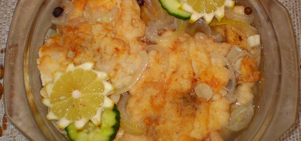 Ryba w cieście w kwaśnej galaretce : (autor: babciagramolka ...
