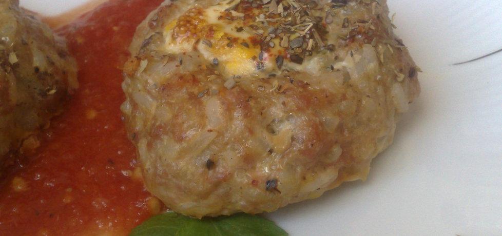 Pieczone mielone z jajeczkiem (autor: teresa18)