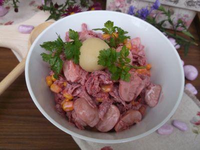 Ekspresowa sałatka z marynowanych warzyw