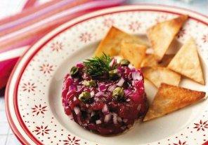 Tatar z argentyńskiej wołowiny  prosty przepis i składniki