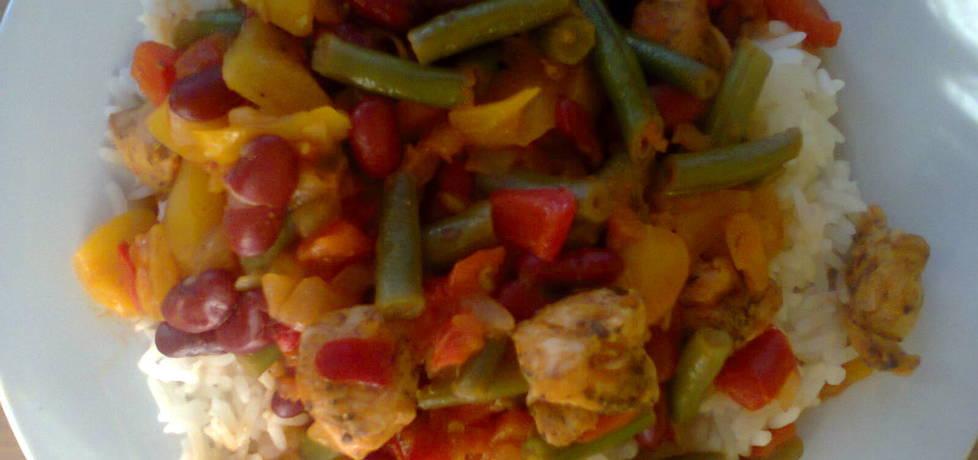 Warzywa na patelnie po meksykańsku (autor: margo1 ...