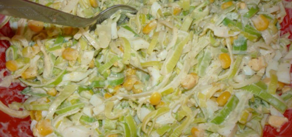 Niedzielna sałatka obiadowa (autor: gosia4747)
