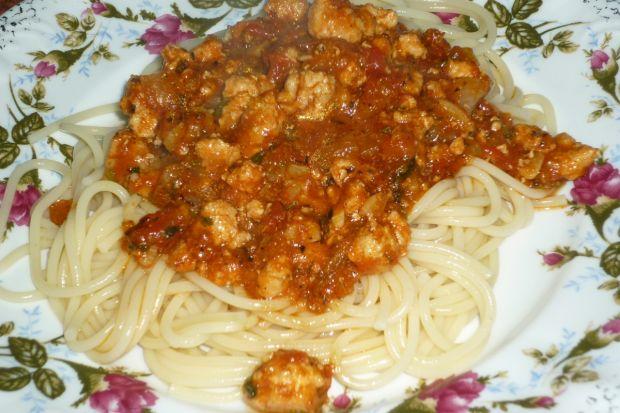 Przepis  ostre spaghetti z natką pietruszki przepis