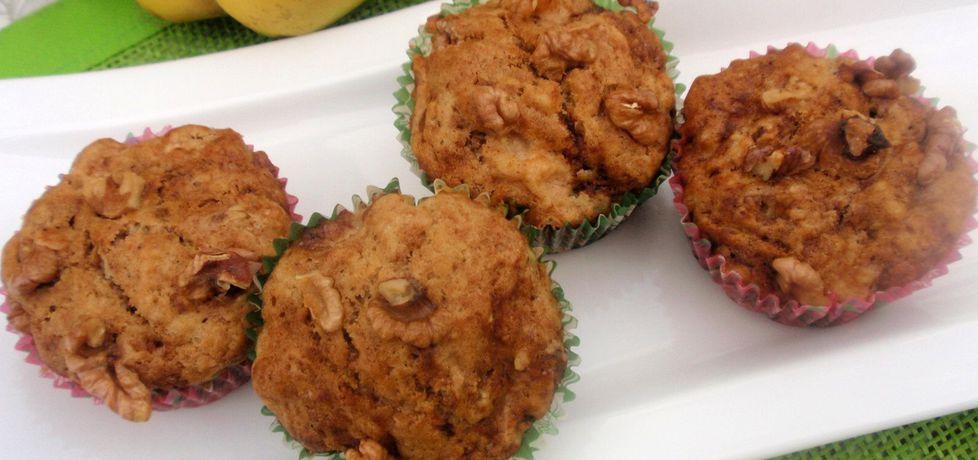 Marmurkowe muffinki z pigwą (autor: gosia56)